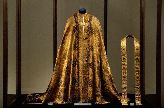 Queen Elizabeth I Coronation Gown