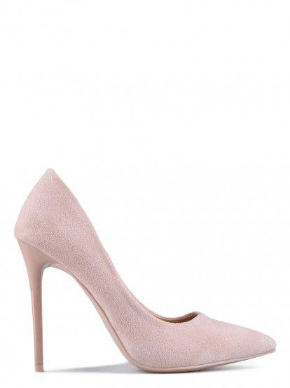 Pantofi de damă cu toc înalt TENDENZ - bej