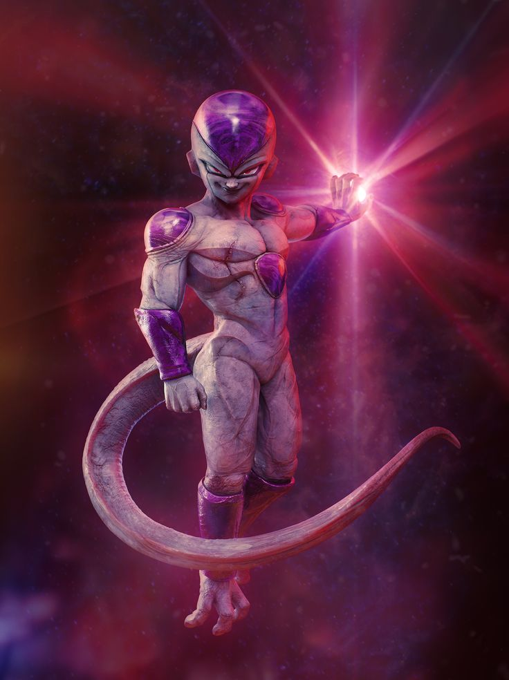 Dragon Ball Z fan art challenge - Nestor Sierra