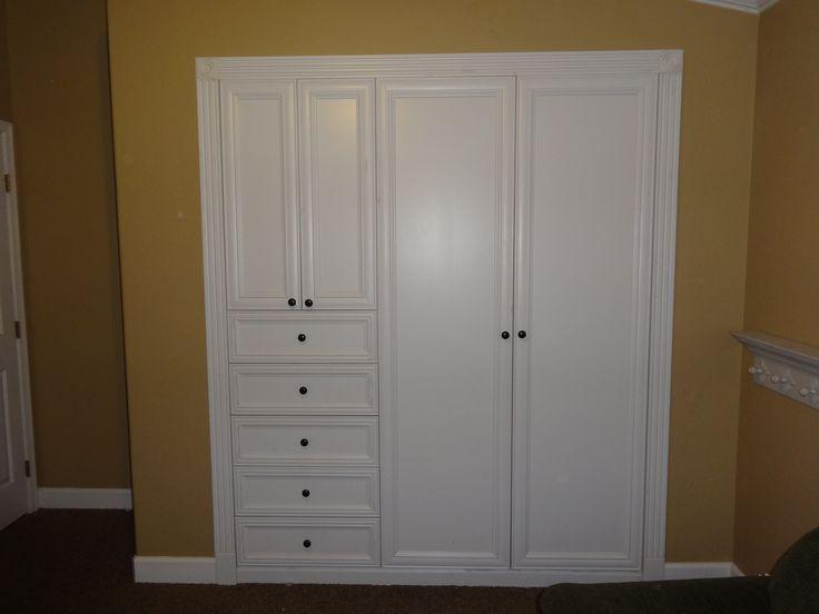 High Quality Turn Your Standard Wall Closet Into A Custom Built In Closet U0026 Dresser