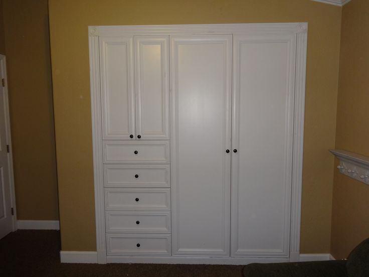 Turn Your Standard Wall Closet Into A Custom Built In