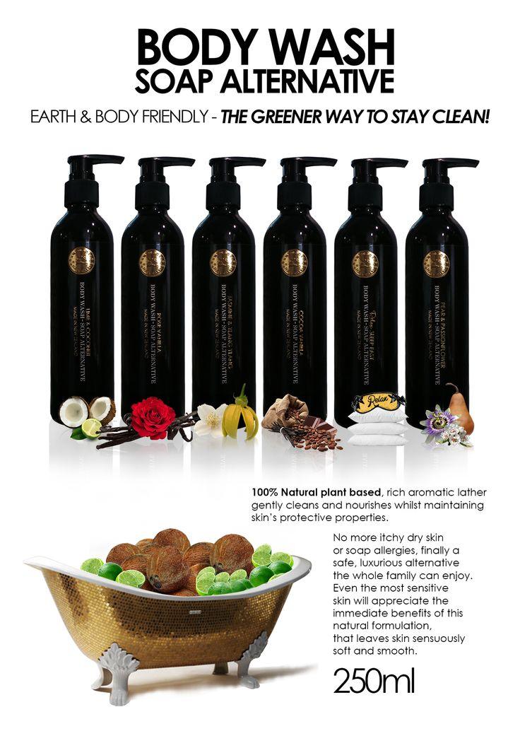 Surmanti Body Wash/Soap Alternative
