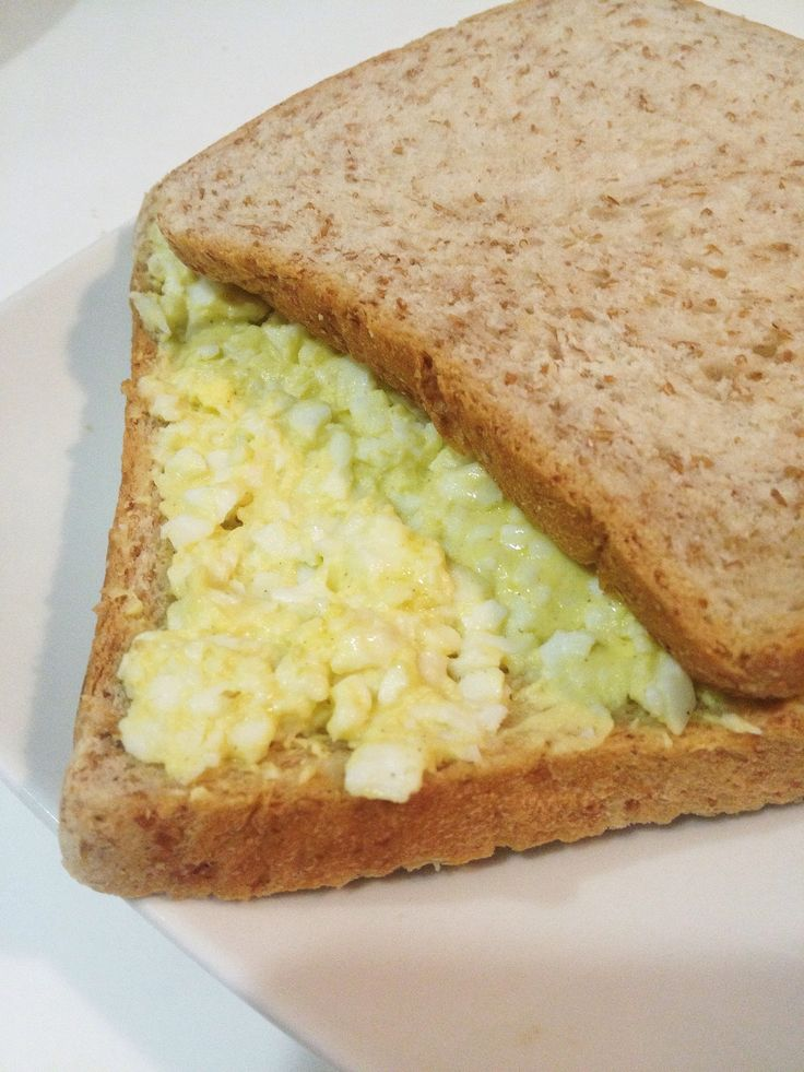 How to Make an Egg Sandwich (Without Mayonnaise)