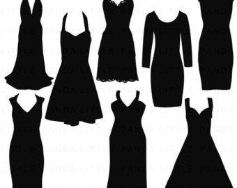 Best Party Dress Clip Art