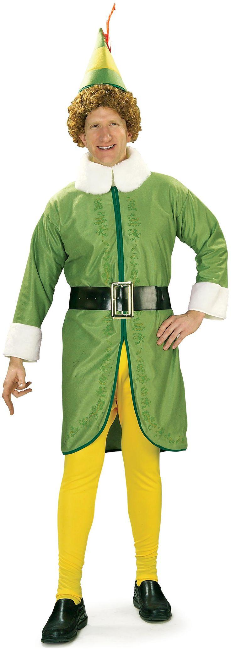 Buddy Elf Adult Costume Buddy the elf costume, Buddy the