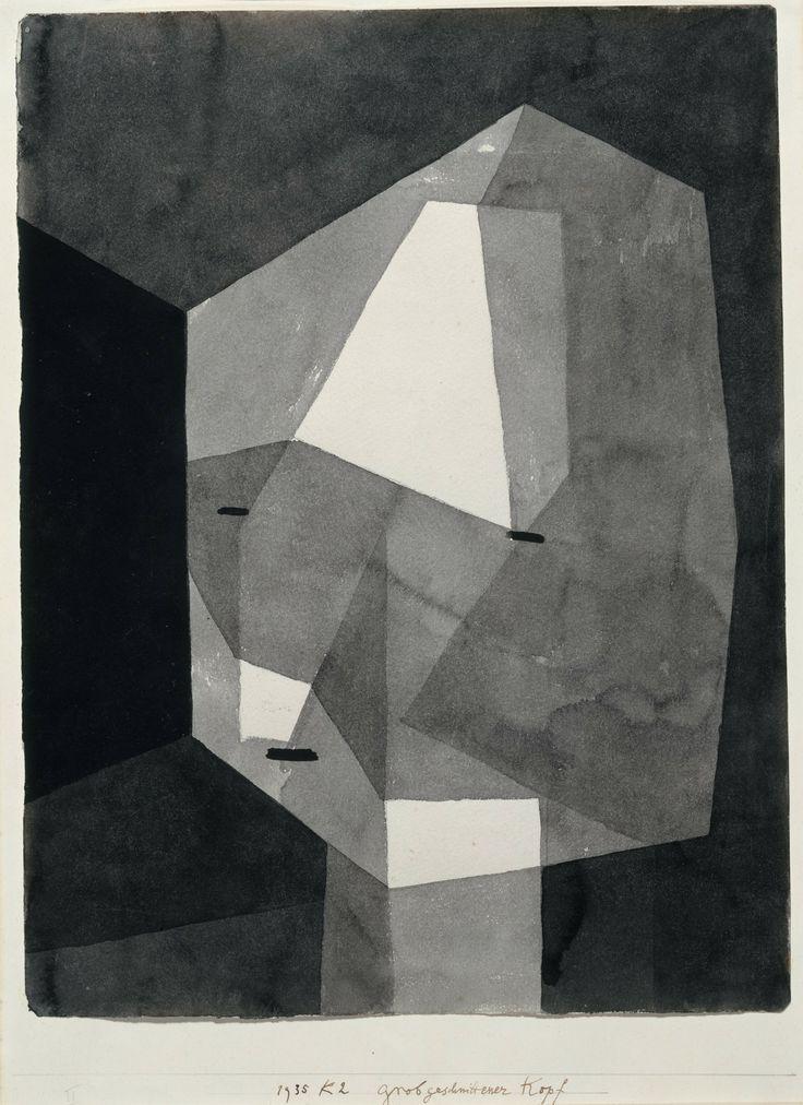 Klee,  Rough-cut Head