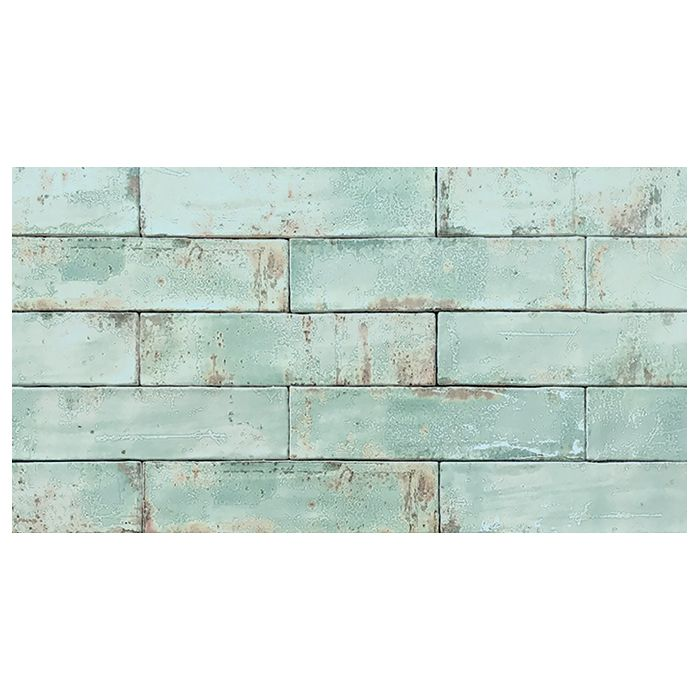 Tesoro Grunge Aqua 3 X 12 Wall Tile Wall Tiles Wholesale Tile Aqua Tiles
