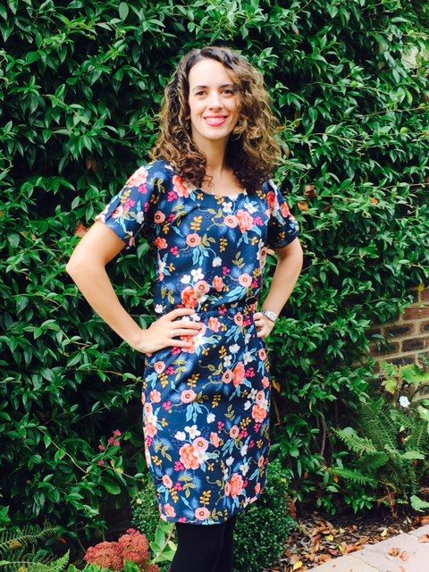 Louisa's Bettine dress - sewing pattern by Tilly and the Buttons
