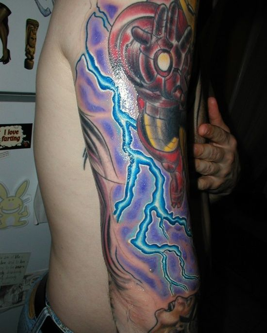 17 best images about lightning tattoo designs on pinterest for Lightning tattoo meaning