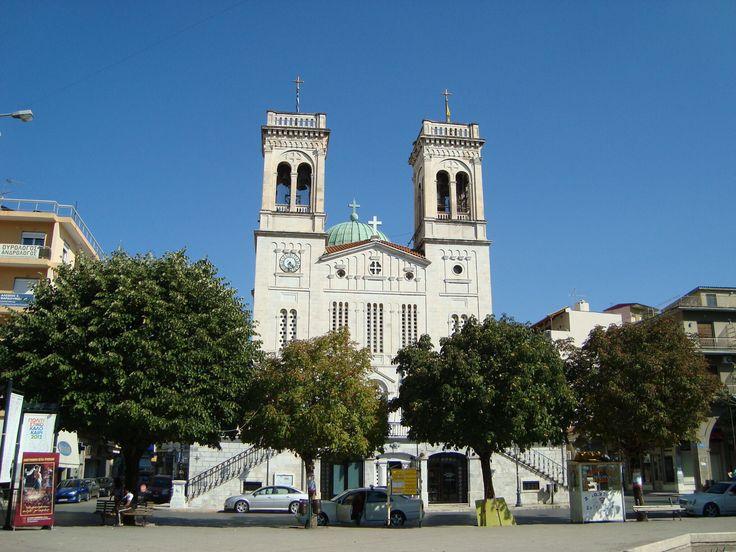 St Basil Tripolis Greece. Ο Αγιος Βασίλειος στην Τρίπολη Αρκαδιας.