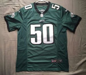 Men's Nike NFL Philadelphia Eagles green jersey Kiko Alonso #50 size M