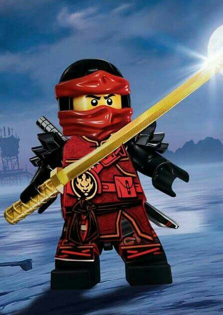 how to draw lego ninjago kai