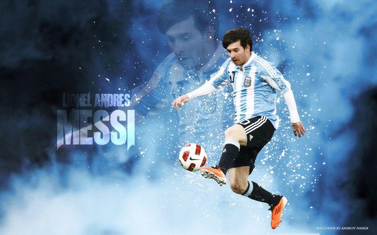 Lionel Messi Argentina Wallpaper - Lionel Andres Messi Wallpaper HD - http://www.wallpapersoccer.com/lionel-messi-argentina-wallpaper-lionel-andres-messi-wallpaper-hd.html