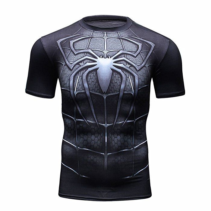 2016 T-Shirt Captain America Civil War Tee Printed T-shirts Men Marvel  Avengers 3 Short Sleeve Fitness Clothing Male