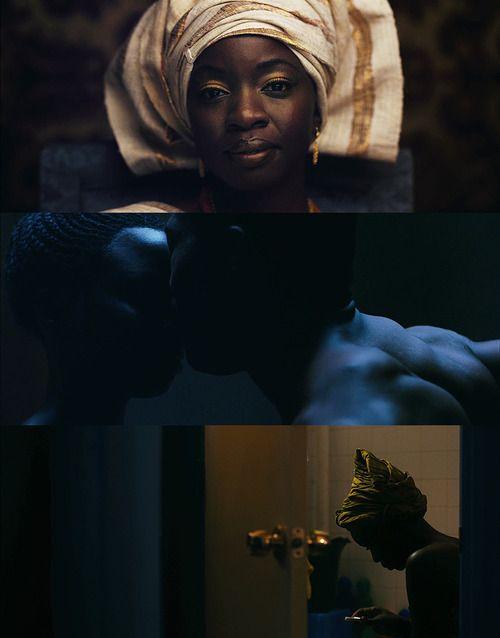 MOTHER OF GEORGE / Dir. Andrew Dosunmu, 2013. DP: Bradford Young.
