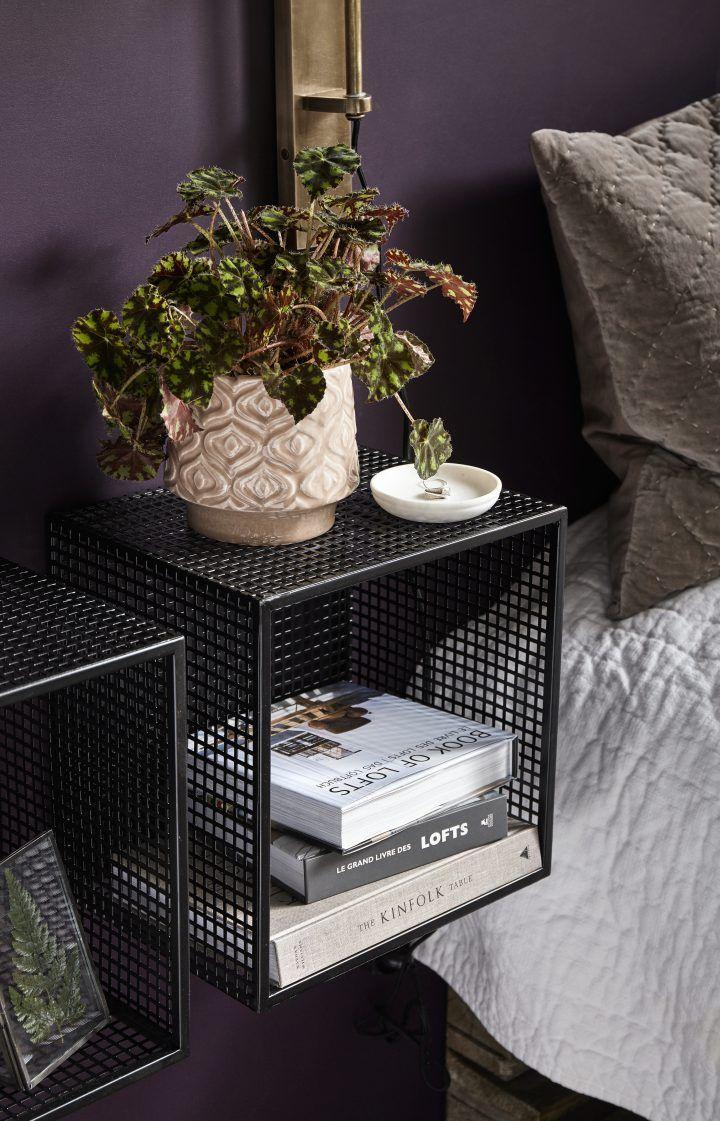 WIRE Box kvadratisk Nordal Interiør, Design, Vegghylle