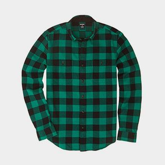 Buffalo Flannel - Green