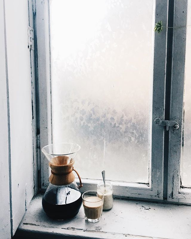 Coffee, anyone? Frosty mornings and hot coffee. Sounds good!