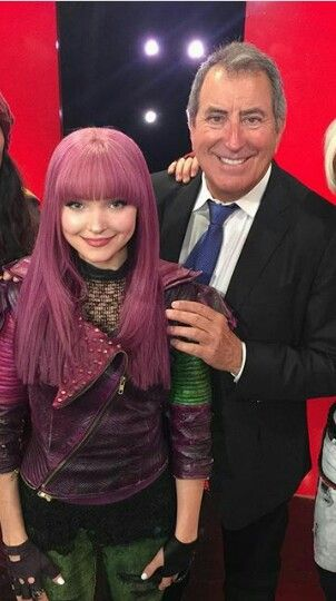 Kenny Ortega and Dove Cameron