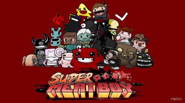 Super Meat Boy In 2020 Fun Comics Main Characters Boys