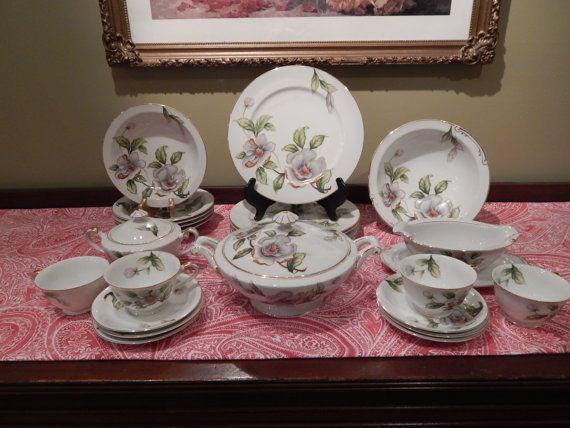 Vintage 24 Piece Set Of Roselyn China Made By Terristreasures1969 110 00 Decorative Plates