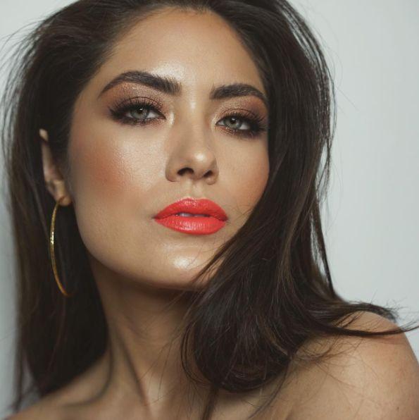 Bronzed Goddess + Coral Lips