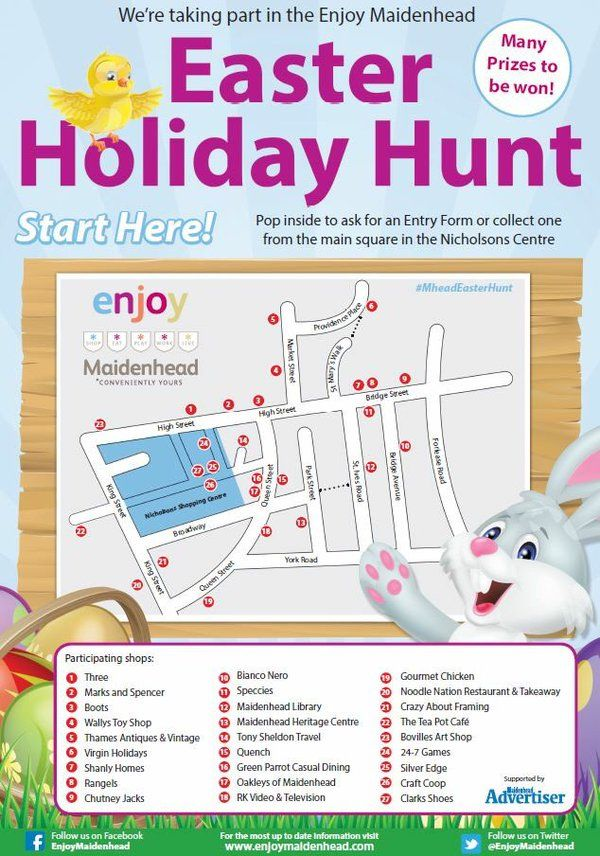 33 best maidenhead easter family fun 2016 images on pinterest free activities in the nicholson shopping centre in town check out the enjoy maidenhead facebook negle Gallery