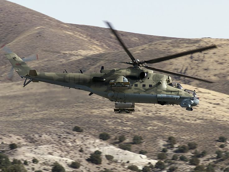 Hind Mi-24 Threat Gunship