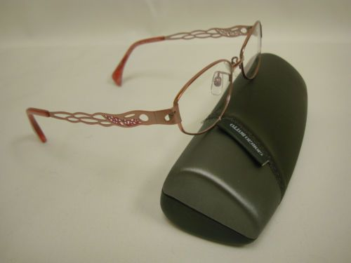 Giorgio Volando Ultra Lite Women's Titanium Eyeglass Frame G13092-53 Purple, Lite, Beautiful & Durable