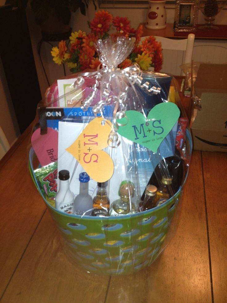 Best Wedding Gift Basket Ever : ... Basket on Pinterest Wedding night lingerie, Honeymoon gift baskets