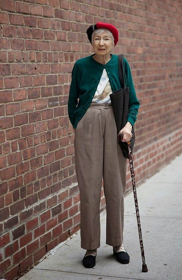 eighteen and a life blog: moda   Moda na terceira idade