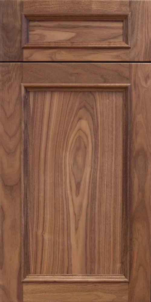 Executive Cabinetry's Lafayette Door in Walnut with a Natural Finish