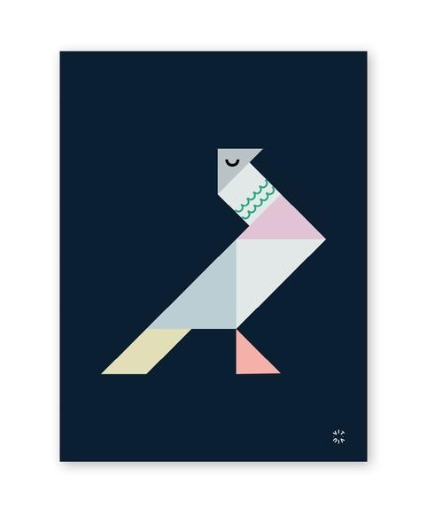 TANGRAM poster - Dove
