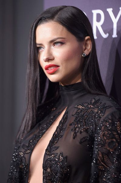 Adriana Lima attends the 19th Annual amfAR New York Gala.