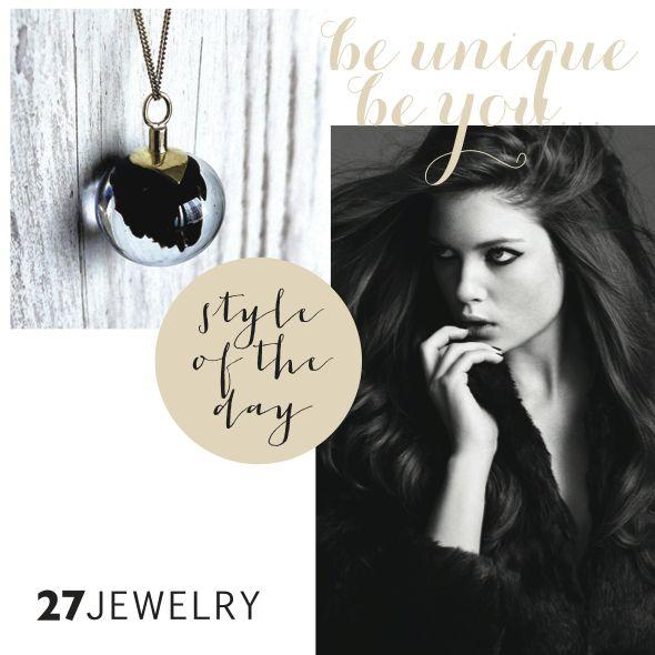 Black magic   27jewelry handmade glass and metal pendant