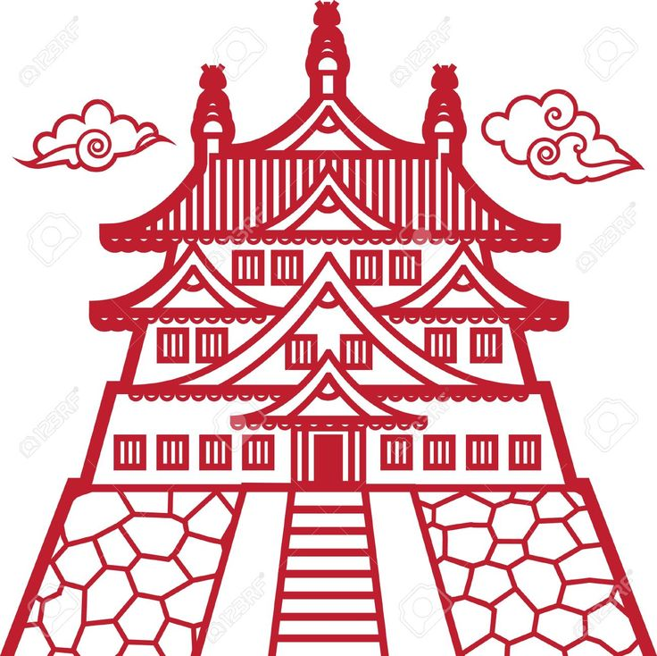 how to draw chinese pagoda - Google Search