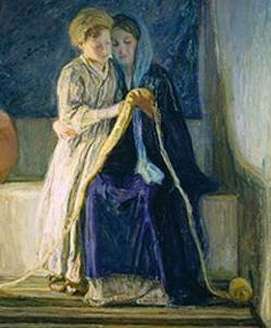 Getting More from the Scriptures: Techniques and Projects for Effective Scripture Study - a free downloadable book!  {picture pinned is Christ and His Mother Studying the Scriptures by Henry Ossawa Tanner}