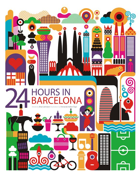 24 hours in barcelona by fernando volken togni for oryx magazine for qatar airways