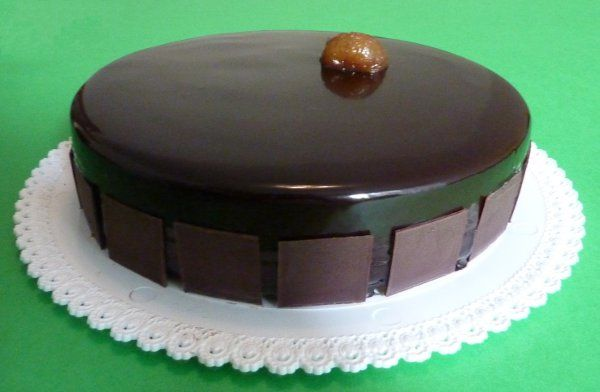 Torta cioccolato marron glacé armagnac