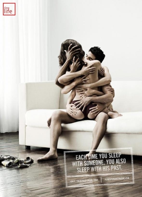Toda vez que você dorme com alguém, dorme também com o seu passado #usecamisinha