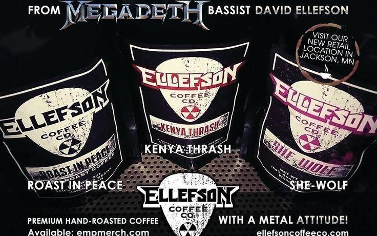#BassMusicianMag Megadeth Bassist David Ellefson Opens Ellefson Coffee Co. @BassMusicianMag #BassMusicianMag