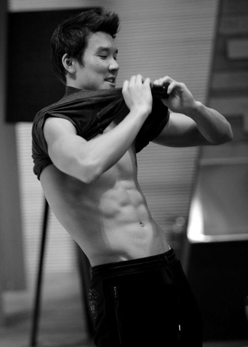 Park Tae Hwan from Korea.