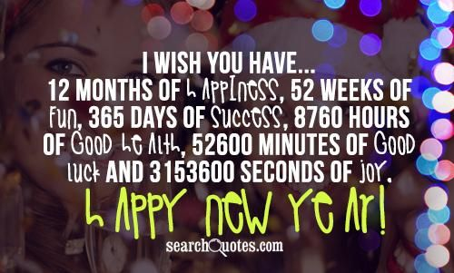 I Wish You Have...12 Months Of Happiness, 52 Weeks Of Fun
