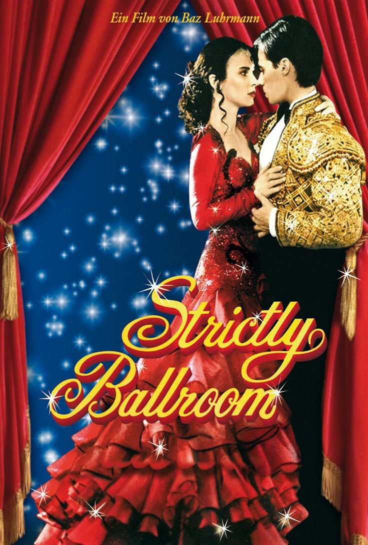 Strictly Ballroom 25th anniversary screening  AUS 1992 dir Baz Luhrmann 94 mins  Starring Paul Mercurio, Tara Morice, Bill Hunter.    Scott is determined to win this year's Pan Pacific Grand Prix Ballroom Dancing title – but he's going to do it his way.  Completely over the top and with every cliché (and glitzy sequin) thrown at it, this film is astonishing as it has enduring appeal for both the blockbuster and arthouse audience in equal measure.