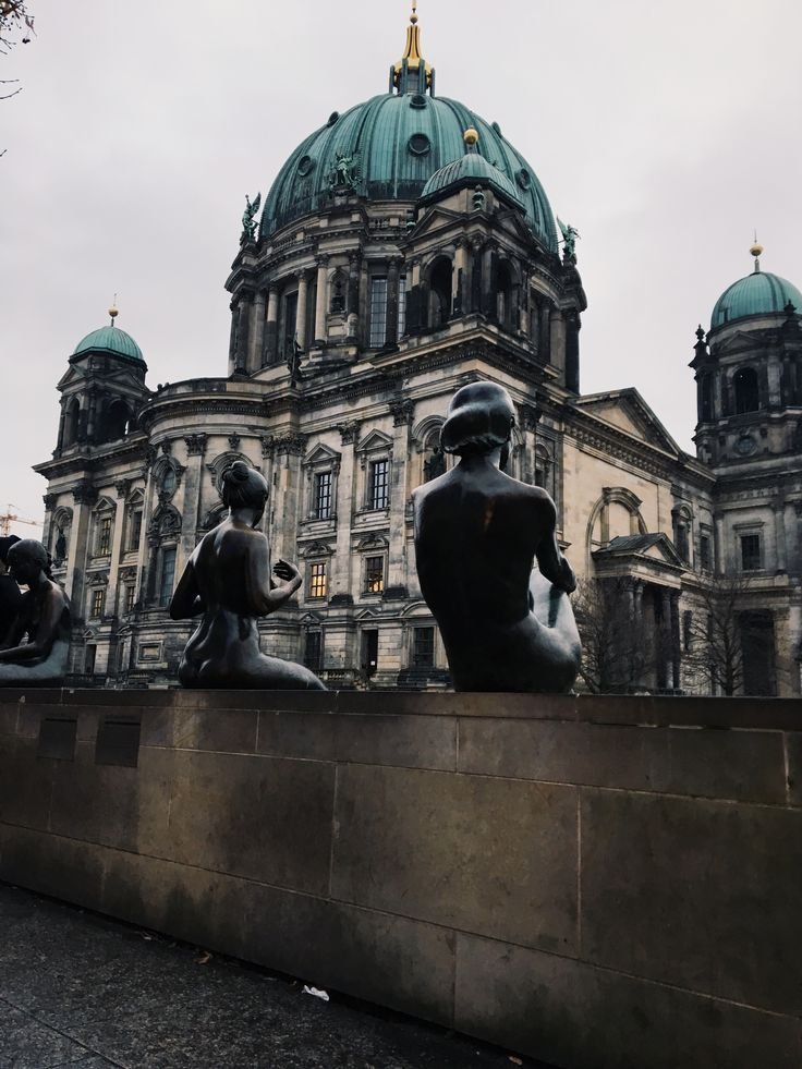 Lost #Berlin #Travel #berlinerdom #statue #spree #travelling #architecture