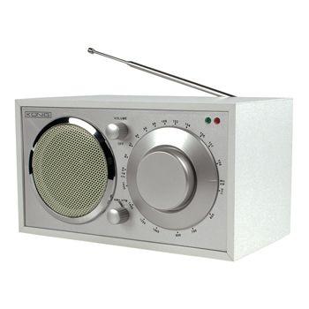 Radio AM/FM de diseño retro color blanco - HAV-TR12  Esta radio AM/FM de madera color blanco, de diseño retro, es un accesorio de tendencia que combina con cualquier decoración. Puede encontrar su emisora de radio favorita de manera rápida y fácil con su práctico botón giratorio. La antena telescópica externa permite una recepción perfecta. Además, la radio dispone de una conexión 3.5mm para auriculares.