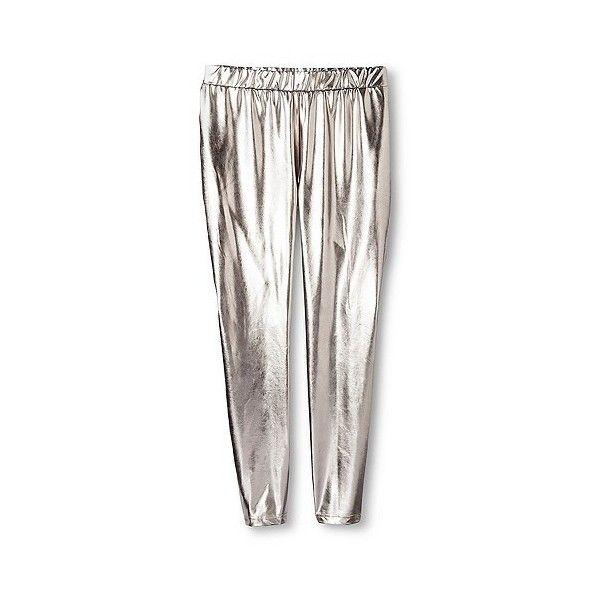 Women's Plus Size Liquid Metallic Legging Gunmetal ($20) ❤ liked on Polyvore featuring plus size women's fashion, plus size clothing, plus size pants, plus size leggings, grey, plus size, plus size metallic leggings, gray pants, grey trousers and gray leggings
