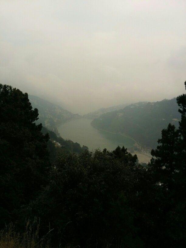 Nainital Hill view Mango shape