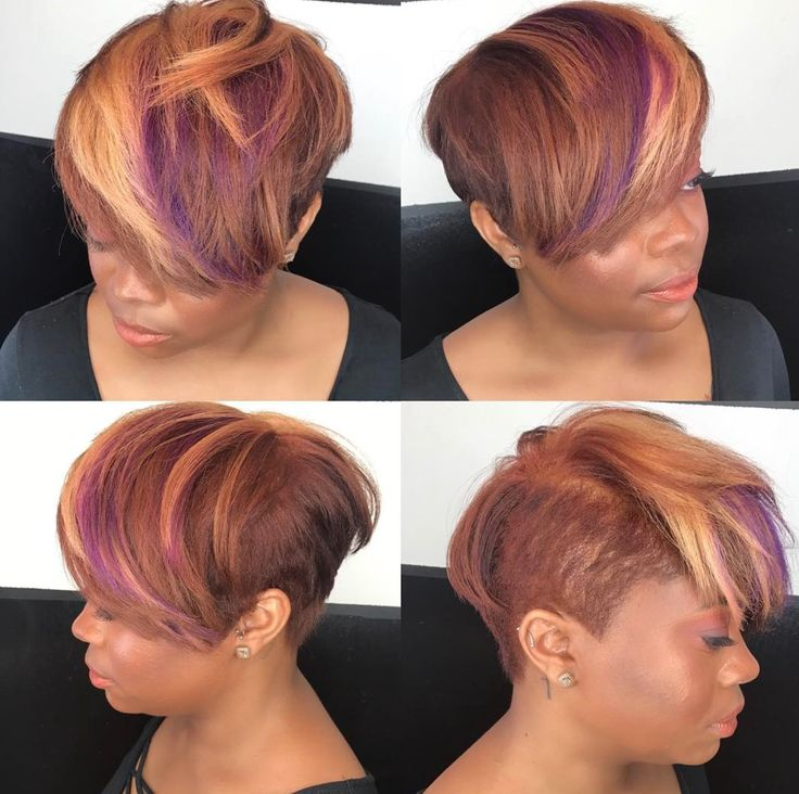 824 best Color me bold images on Pinterest | Short hairstyle ...