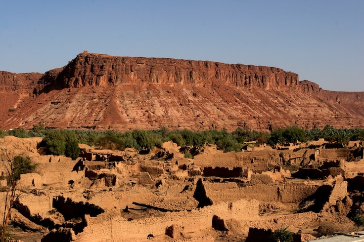 The old town of Al-Ula by www.thesignaturehotels.com